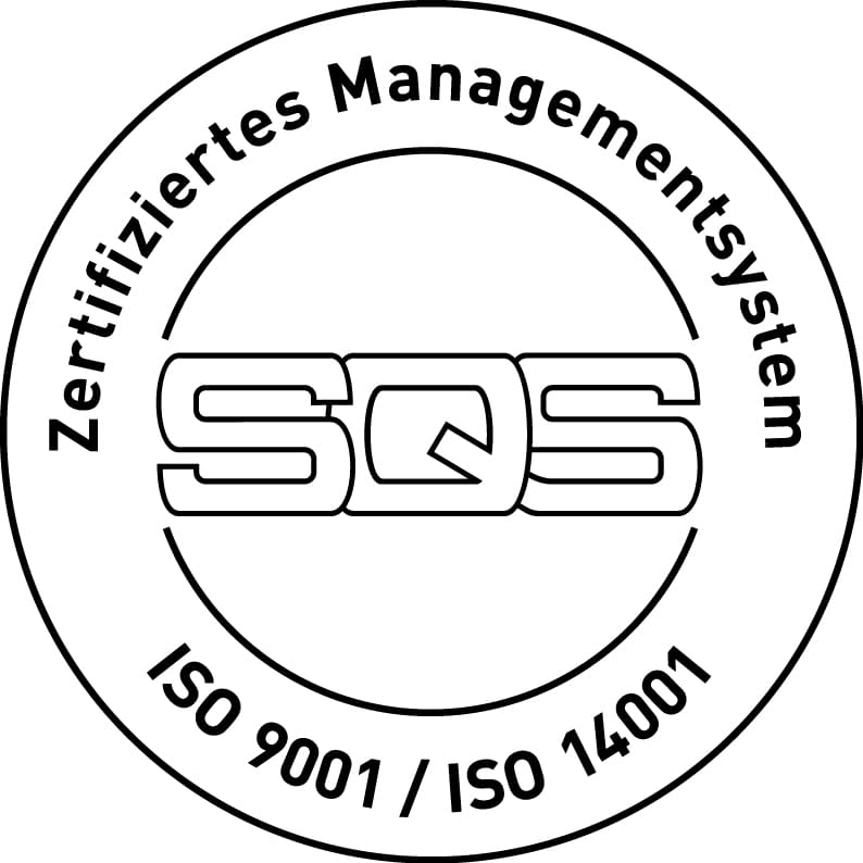 ISO9001 / ISO14001 certificate