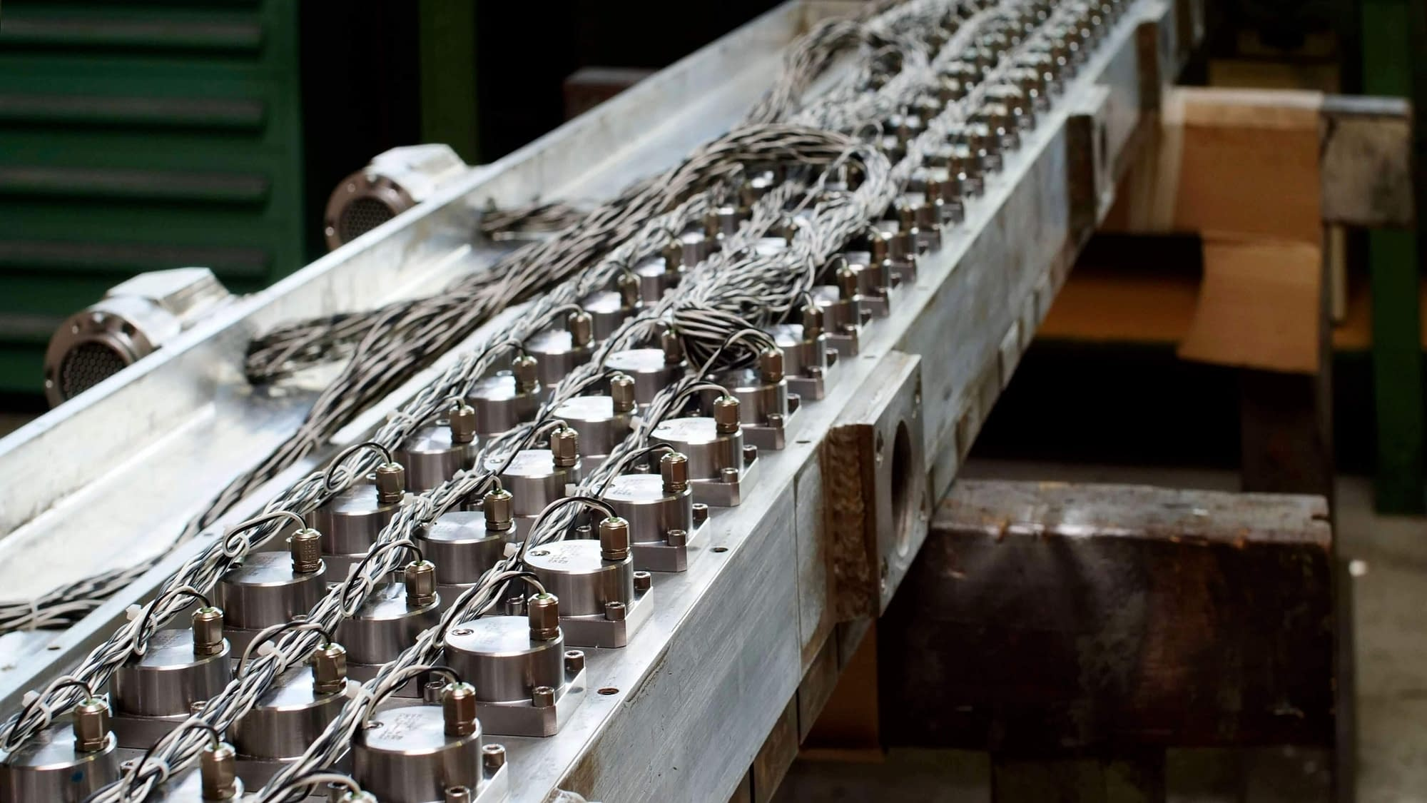 complete rolling mill cooling bar after the revision